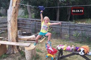 با این دختر نینجا 5 ساله آشنا شوید (عکس)