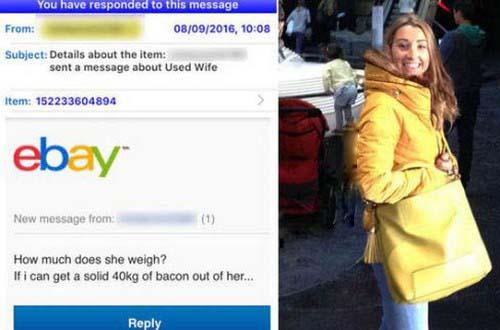 این مرد 33ساله همسر زیبایش را به فروش گذاشت (عکس)