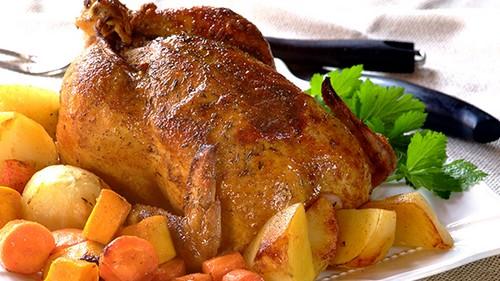 راز درست کردن مرغ شکم پر گیلانی