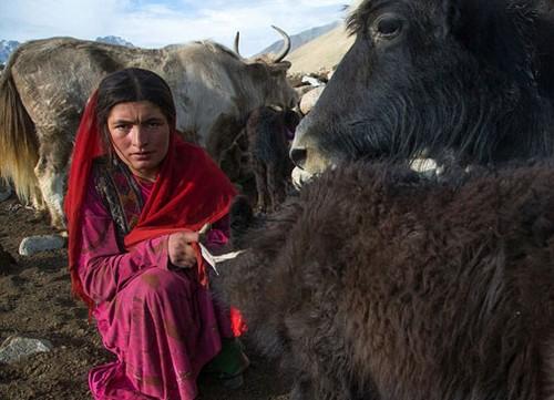 عکس هایی از عجیب ترین قبیله در افغانستان