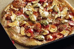 این پیتزا با طلای 24 عیار درست شده است (عکس)