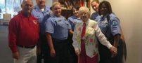 آرزوی باورنکردنی این پیرزن 102 ساله (عکس)