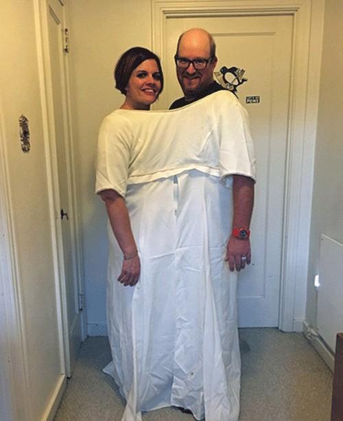 عجیبترین جشن سالگرد ازدواج دنیا(عکس)