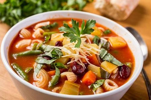 طرز تهیه سوپ سبزیجات خوشمزه