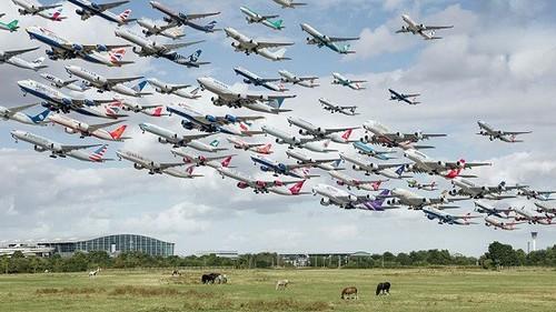 عکس های باورنکردنی از ترافیک هوایی