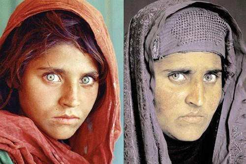 این دختر همان دختر چشم قشنگ معروف است (عکس)