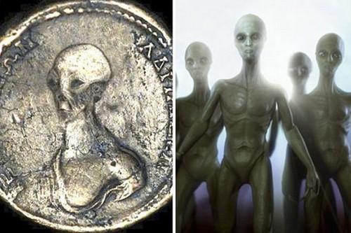 کشف باورنکردنی سکه های فرازمینی در مصر (عکس)
