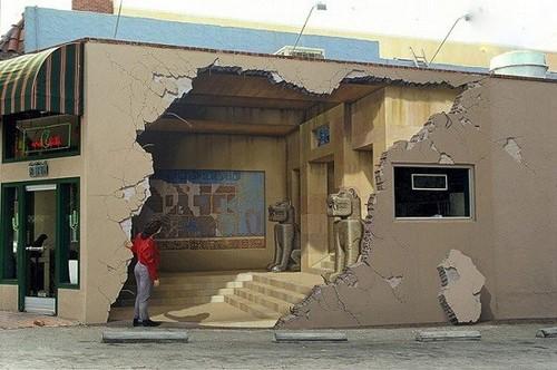 عکس های از نقاشی های دیواری فریب دهنده