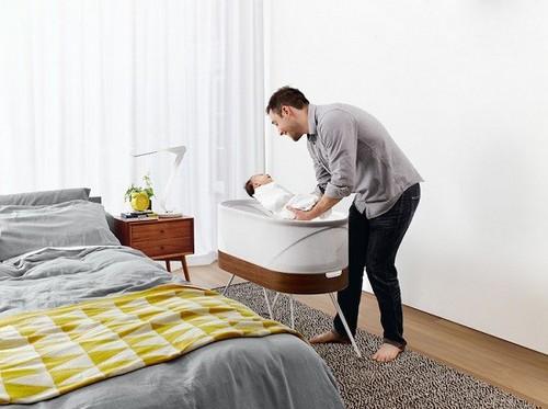 عکس های باورنکردنی از تخت هوشمند نوزاد