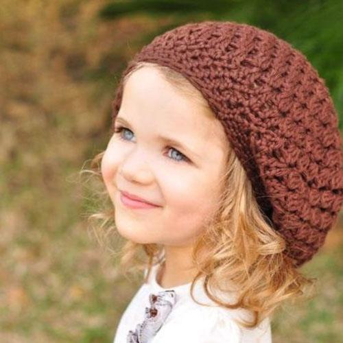 جدیدترین مدلهای کلاه و شال گردن بافتنی بچگانه