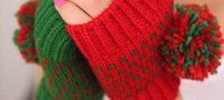 جدیدترین مدلهای دستکش بافتنی دخترانه