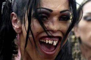 تصاویر زشت ترین دختران فیس بوک را ببینید