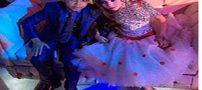 جنجال جشن نامزدی پسر 12 ساله میلیونر با دخترعمویش+عکس