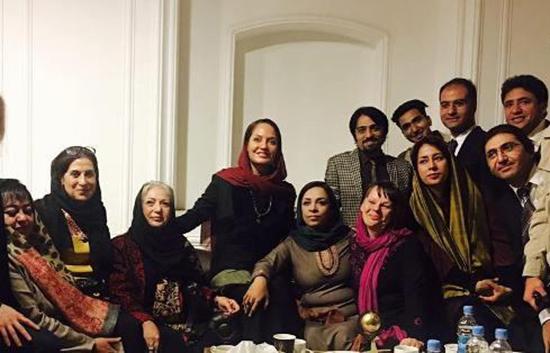 سفر مهناز افشار به افغانستان +عکس