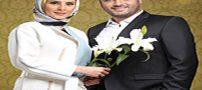 عکس سام درخشانی و همسرش عسل در سالگرد ازدواجشان