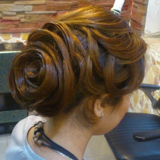 جدیدترین شینیون موهای زیبا برای عروس