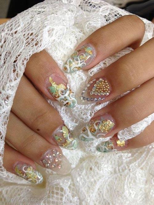 مدلهای جدید و شیک طراحی ناخن عروس