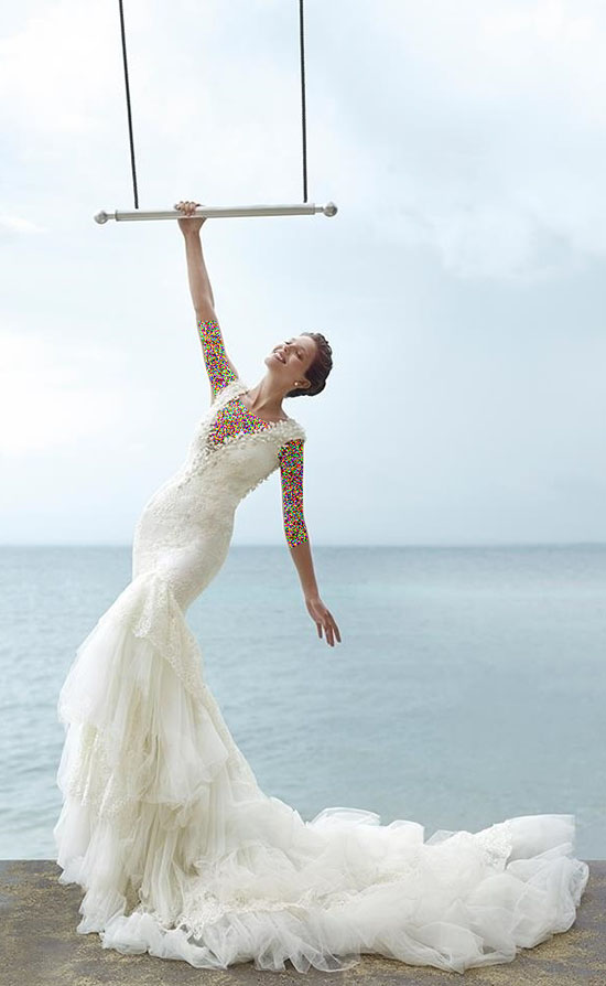 زیباترین مدلهای جدید لباس عروس