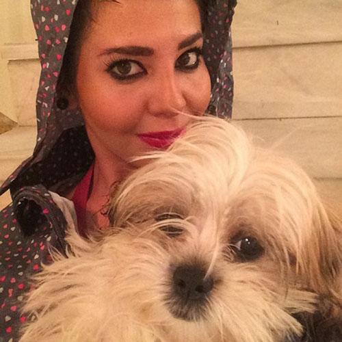 مرسده ملک شاهی سگ آزار دستگیر شد +عکس