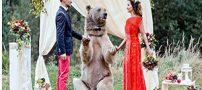 پر دلهره ترین عروسی در جهان +تصاویر