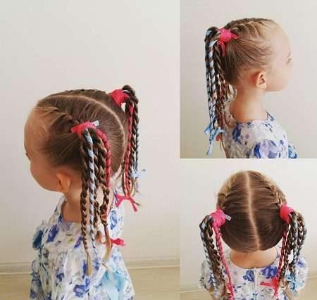 مدلهای زیبای بافت موی دخترانه