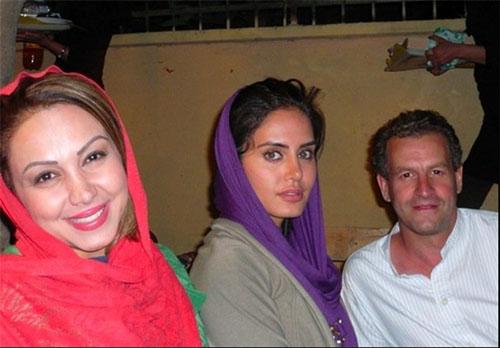 همسر خانم مجری معروف بی بی سی در ایران +تصاویر