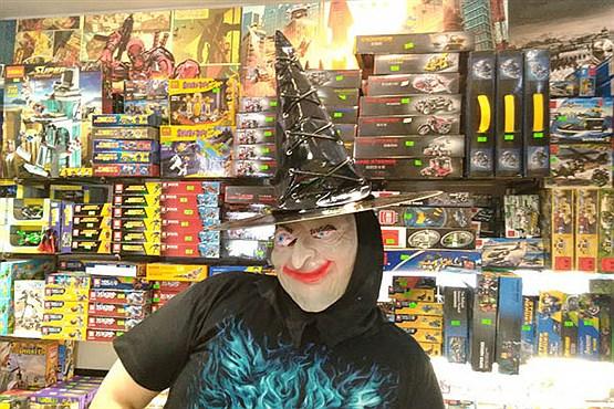 لوارم و مراسم ترسناک هالووین در تهران +عکس