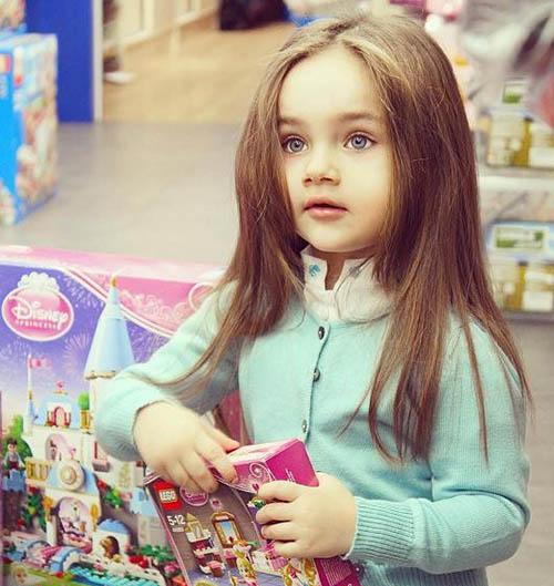 زیباترین دختر بچه ترک مدلینگ شد + تصاویر