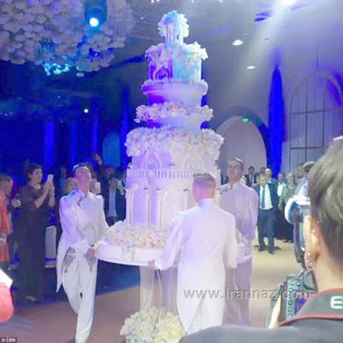 شیکترین و گرانترین عروسی در کل جهان +تصاویر