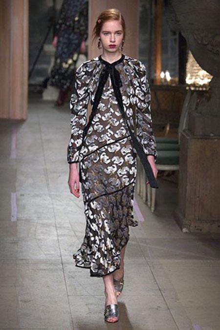 جدیدترین مدل های لباس در فشن شوی لندن