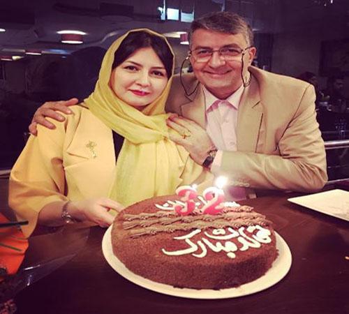 مستر بین ایران در جشن تولد دخترش سارا +عکس