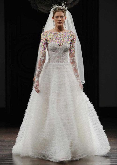 زیباترین مدلهای لباس عروس اروپایی