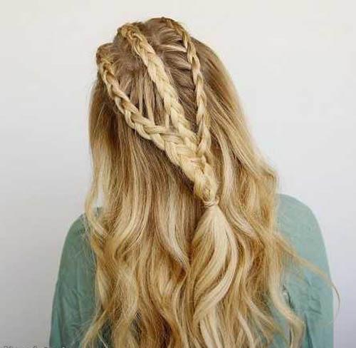 زیباترین مدلهای بافت موی بلند