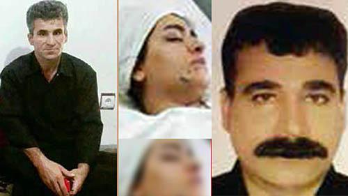 خواستگار ناکام پدر و دختر را به گلوله بست +عکس