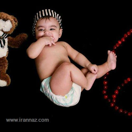 عکسهای بامزه از کودکان زیبا