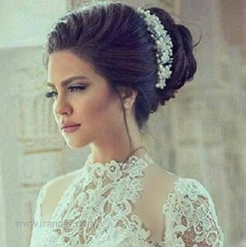 جدیدترین و زیباترین مدل های تاج و میکاپ عروس