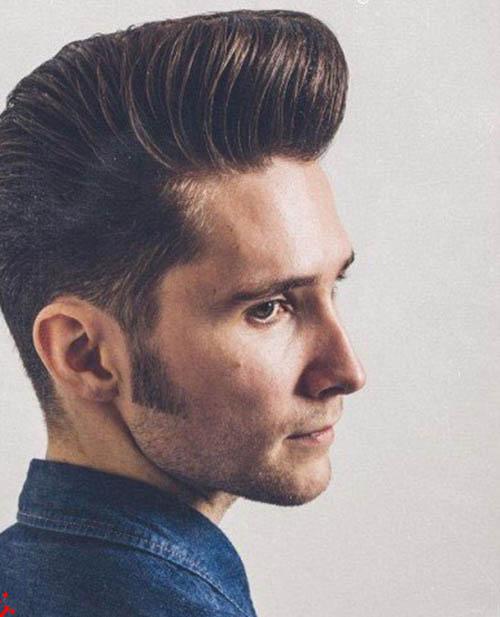 تصاویر انواع مدل مو مردانه
