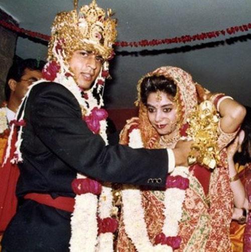 جشن سالگرد ازدواج شاهرخ خان و همسرش +عکس