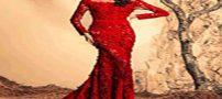 زیباترین مدلهای لباس مجلسی به رنگ قرمز