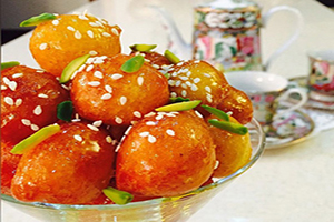 طرز تهیه شیرینی بوشهری لیقمات