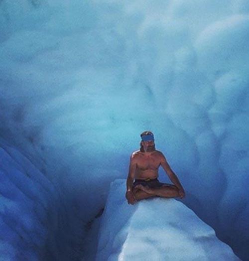 ابر انسانی که هیچوقت سردش نمیشود + تصاویر