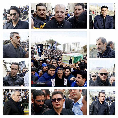 مزار مرحوم منصور پورحيدری +عکس
