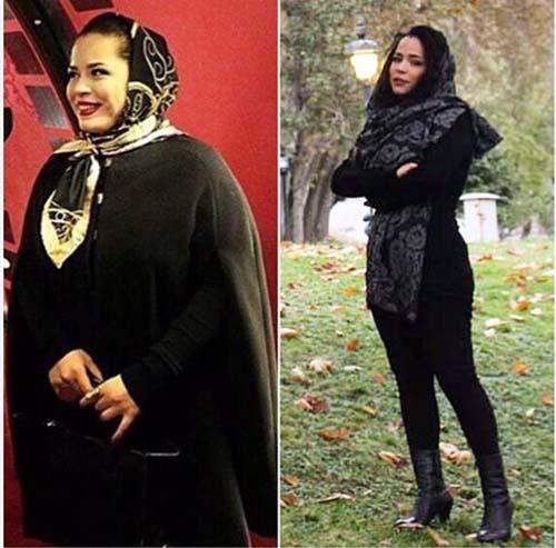 ملیکا شریفی نیا 20 کیلو وزن کم کرد +عکس