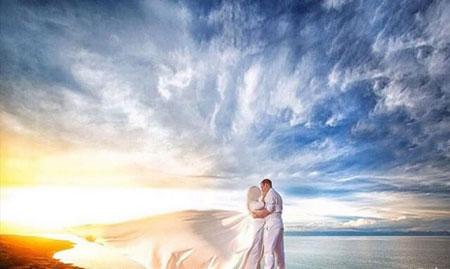 بهترین مدلهای ژست عروس و داماد مخصوص آتلیه