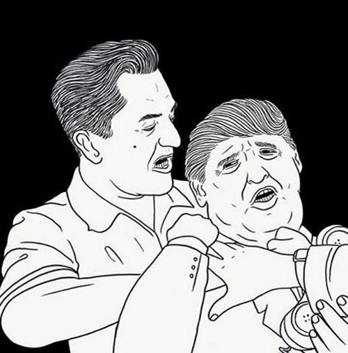 جنجال ماجرای مشت زدن رابرت دنیرو به صورت ترامپ