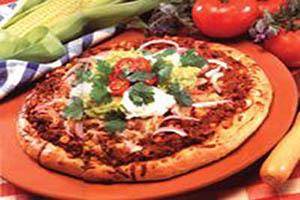 دستور تهیه پیتزای مکزیکی