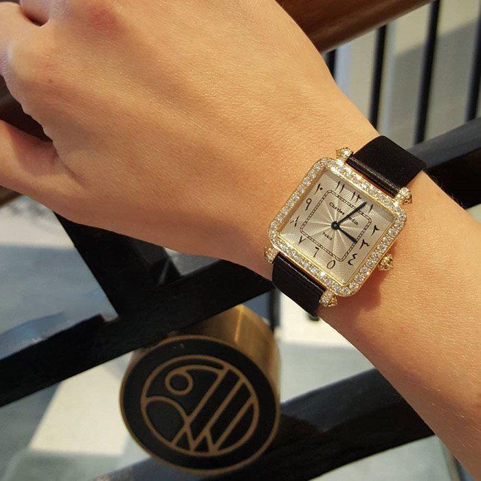 تصاویر ساعت مچی های زنانه برند Charles Oudin