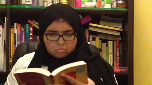 دختر دانشجو از ترس ترامپ کشف حجاب کرد +عکس