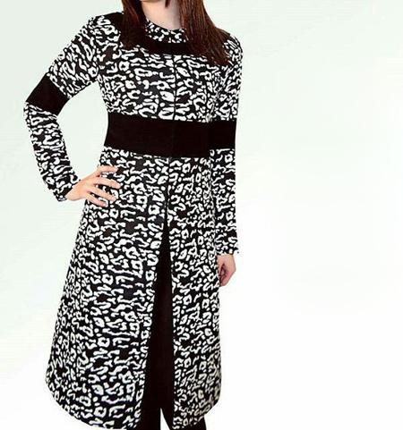 مدلهای شیک مانتو سیاه و سفید