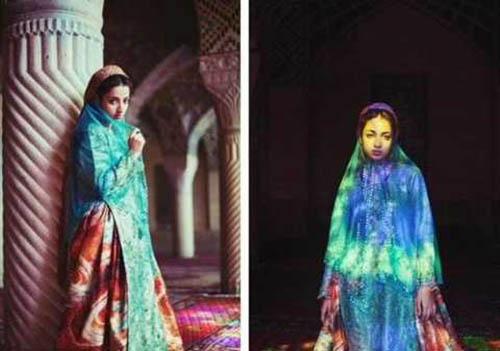 دختر شیرازی یکی از زیباترین دختران جهان شد +تصاویر